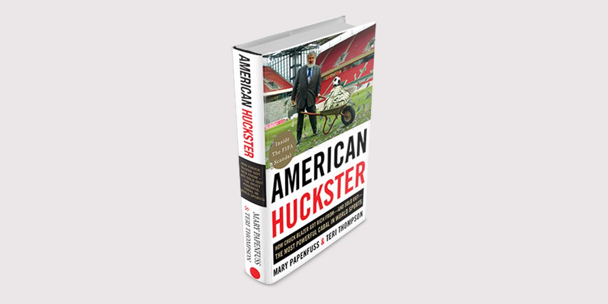 American Huckster Book Mock-up