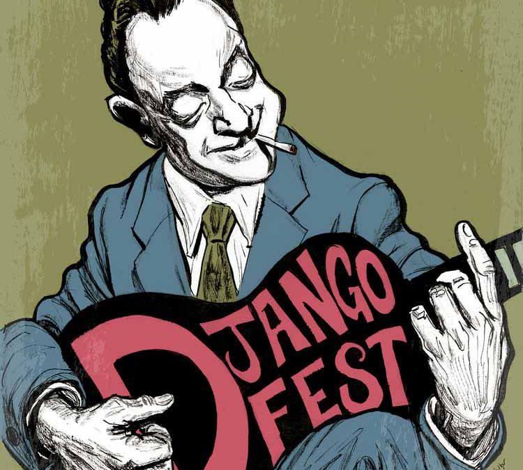 Django Reinhardt Illustration