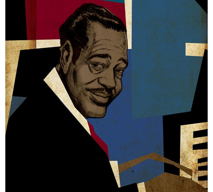 Duke Ellington Illustration