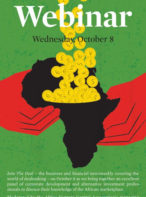 Foreign Investing in Africa Print Design