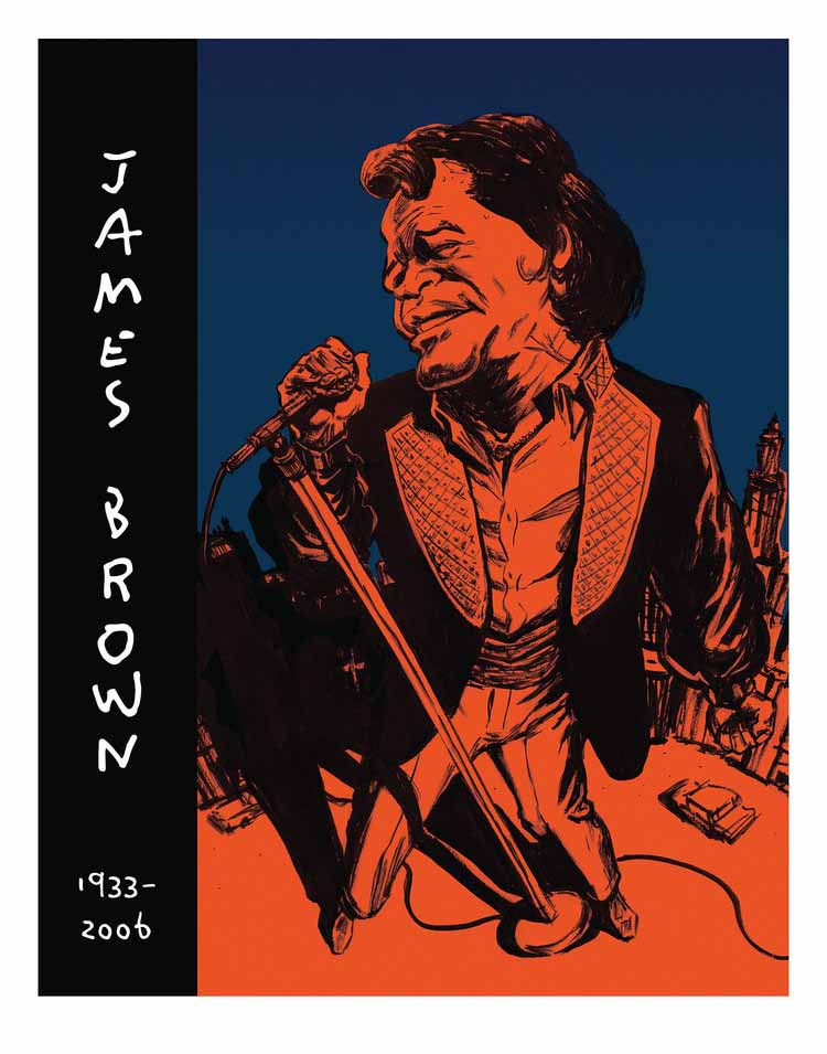 James Brown Illustration