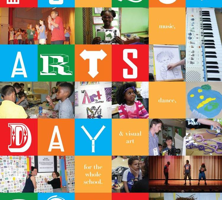 PS 261 Arts Day Poster (Pro Bono) Print Design