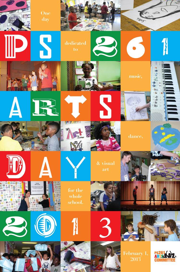 PS 261 Arts Day Poster (Pro Bono)