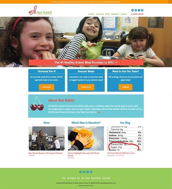 Red Rabbit Homepage