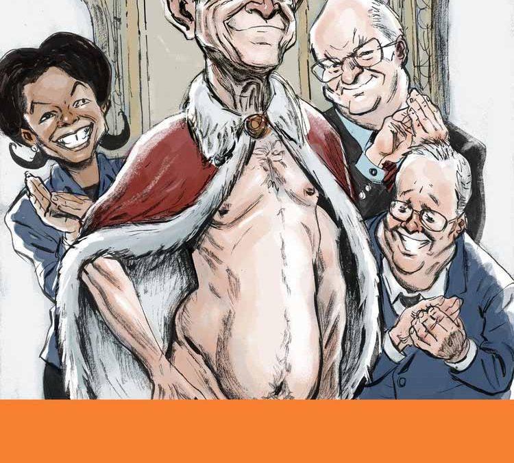 George W. Bush as Emperor Illustration