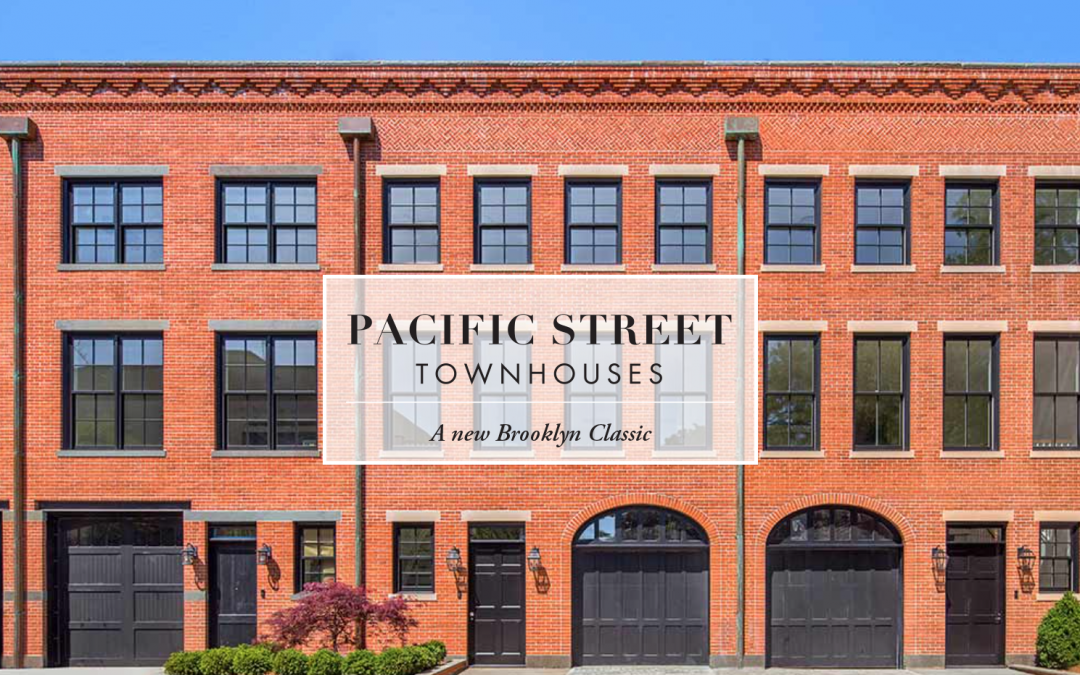 Pacific Street Townhouses Web Design