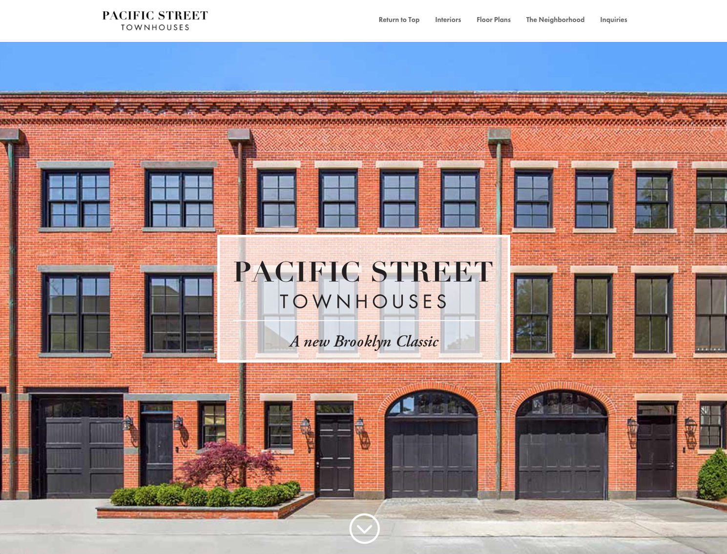 Feature Pacific Street Townhouses