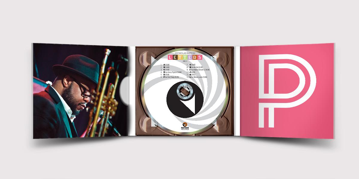 Letters CD Inner Design