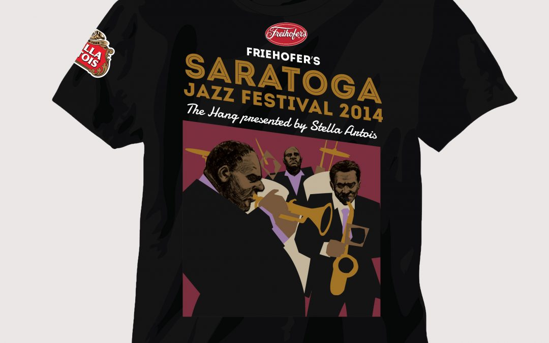 Saratoga Jazz Festival Illustration