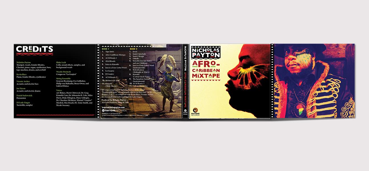 Nicholas Payton / Afro-Caribbean Mixtape Digipack Cover
